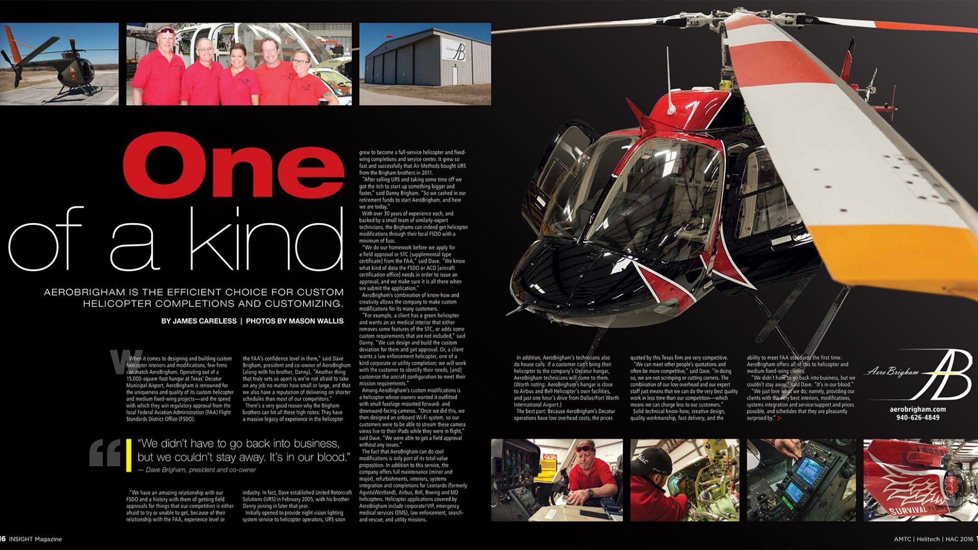 Insight Custom Helicopter Article