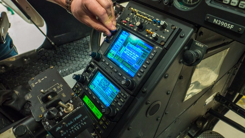 helicopter console