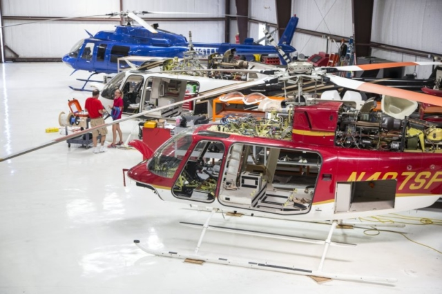 helicopter repair